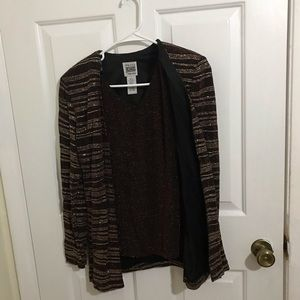 5/$45 R&M Richards Size Small Vintage Glittery Top